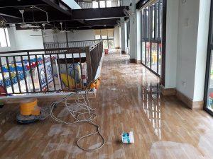 Vệ sinh công nghiệp sau khi xây dựng Hà Tĩnh
